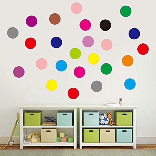 Circle wall decor stickers