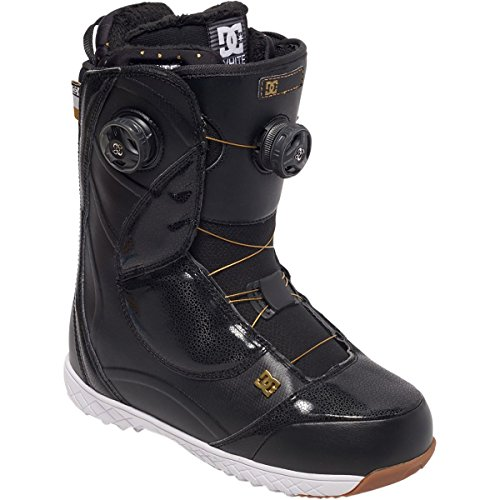 DC Mora Snowboard Boots, Size 7.5, Black/Gold by DC