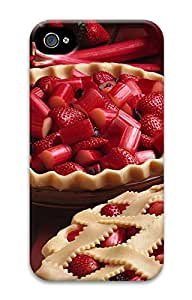 iPhone 4 4s Case, iPhone 4 4s Cases Strawberry food Custom Design PC Hard Plastics Case Cover Protector for iPhone 4 4s