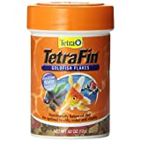 Tetra 77025 TetraFin Goldfish Flakes, 0.42-Ounce, 85 ml