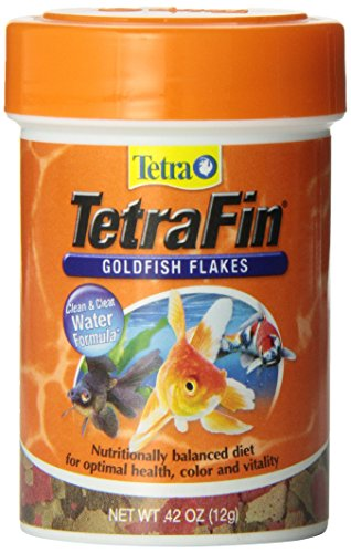 TetraFin Goldfish Food Flakes | Tetra Aquarium