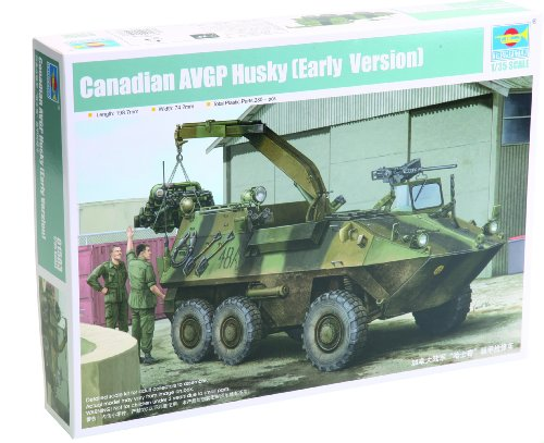Trumpeter Canadian Husky 6x6 (Early Version) Armored Vehicle General Purpose (AVGP) (1/35 Scale)