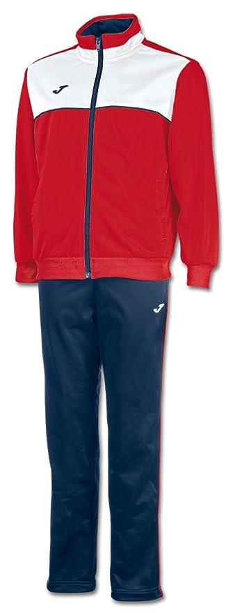 95de94396 CHANDAL JOMA TRACKSUIT RED- NAVY (1 AÑO): Amazon.es: Deportes y aire ...