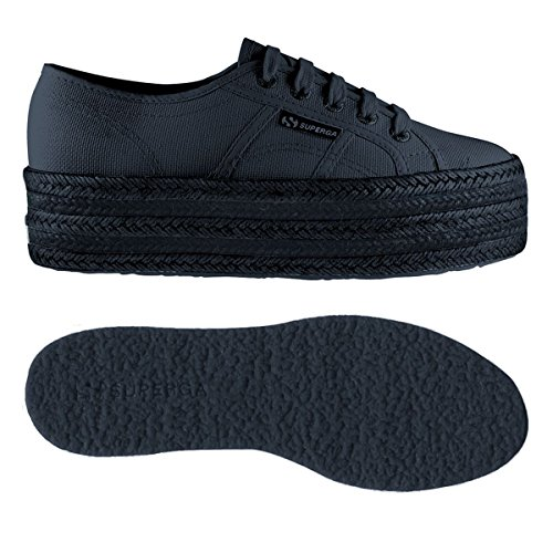 Superga Total Cotcoloropew 2790 Donna Sneaker Navy OpqBpS