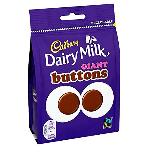 Cadbury Dairy Milk Giant Buttons Chocolate 119g ()