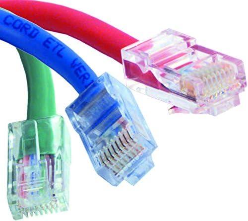 SANOXY Network Cables SNX- SPC21942 Network Cable RJ45 Plug 14 ft White 4.3 m Cat5e RJ45 Plug