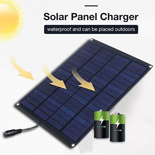 foyar Solarpanel Solar Ladegerät, 20W 18V USB Solarladegerät Solarladegeräte, Für Wiederaufladen USB-Geräte, Auto Yacht Wohnmobil Licht Everyday