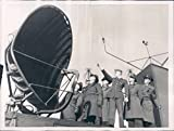 1956 Photo Max Rohlfs Air Force Officers Antenna West German Uniforms