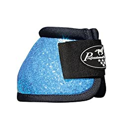 Professionals Choice Secure-Fit Boots Medium Glitter Pacific Blue