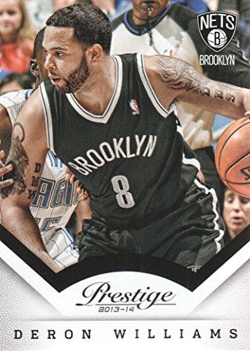 (2013-14 Prestige Basketball #57 Deron Williams Brooklyn Nets )