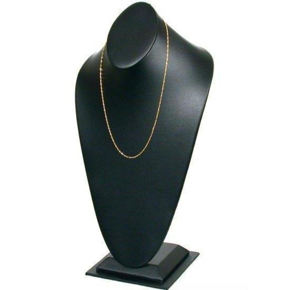 Tall Necklace Stand Bust Chain Display 14.5
