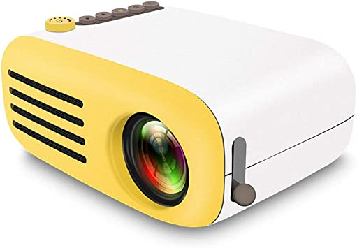 DYG Proyector de Inicio, Mini proyector LED portátil en Miniatura ...