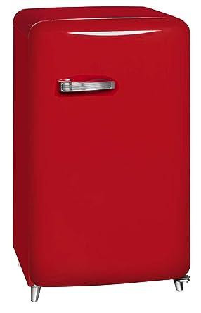 kühlschrank mit gefrierfach rot