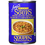 Amy's Kitchen Soup-Hearty French, Country Vegetable, 398 ml