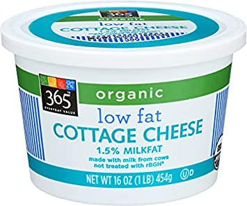 Remarkable 365 Everyday Value Organic Low Fat Cottage Cheese 16 Oz Home Remodeling Inspirations Cosmcuboardxyz