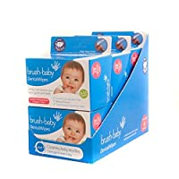 Brush Baby Dental Wipes - value pack of 6 boxes of 28 wipes