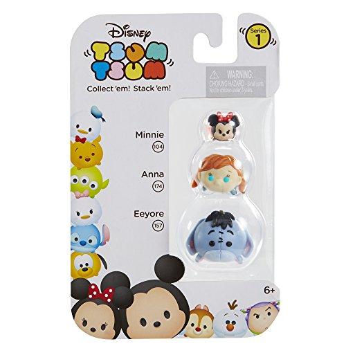Tsum 3 Pack Figures Eeyore Minnie