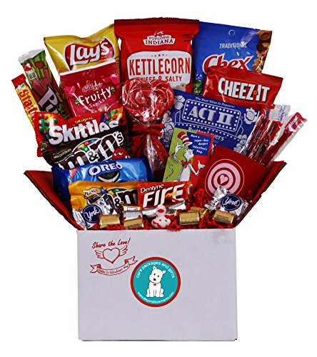 Share the Love Valentine's Day Care Package - Great for College Students, Military Troops or to Wish Anyone a Happy Valentine's Day