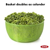 OXO Good Grips Salad Spinner, Green,Large