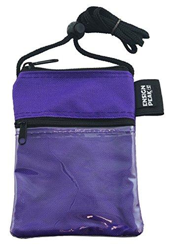 Neck Wallet (Purple)