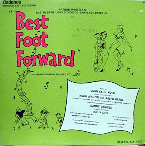 ORIGINAL CAST BEST FOOT FORWARD vinyl record