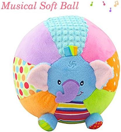 descubra Pelota Musical bebé Suave Bola de Peluche Lindos ...