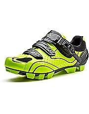 Santic MTB Zapatos De Bicicleta De Montaña Zapatos De Ciclismo Zapatos SPD Zapatos De Hombre Zapatos De Bicicleta