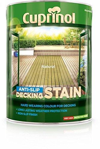 Cuprinol Anti-slip Decking Stain Natural 5L by Cuprinol (Cuprinol Natural)