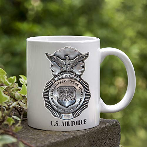 Air Force coffee mug unique Air Police military police retirement gift veteran Special Forces veterans day gift
