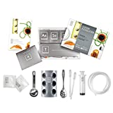 MOLECULE-R Molecular Gastronomy Introductory Kit | Modernist Cuisine | Learn Spherification Gellification Emulsification Suspension | With Additives, Tools, Recipe Booklet
