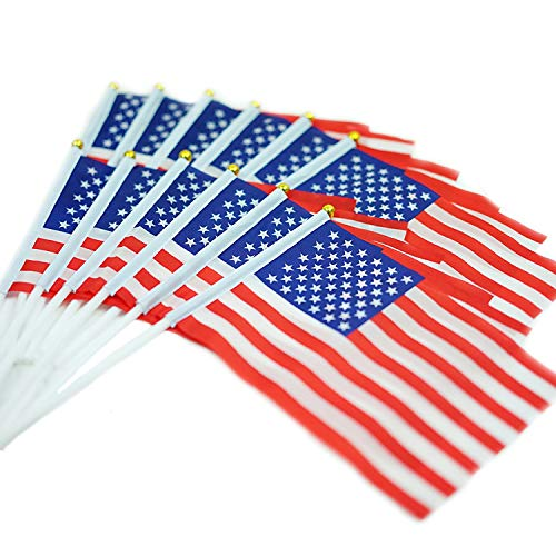 Jetlifee Small American Flags 5 x 8 inch by US Veterans Owne
