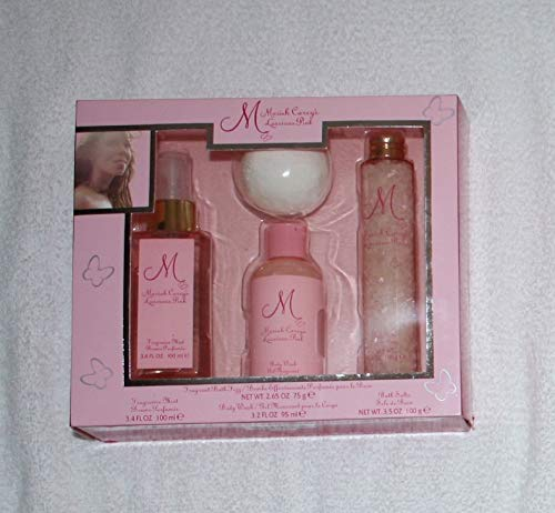 Luscious Pink Perfume - Mariah Carey Luscious Pink Bath Set 4 pc
