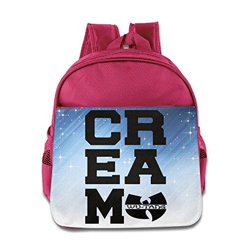 POOZ Wu Tang Kids School Bagpack For Boys & Girls Pink