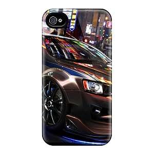 For Iphone 4/4s Tpu Phone Case Cover(mitsubishi Evo)