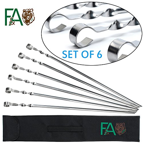 fa-grill-barbecue-stainless-steel-skewers-long-22-6-piece-with-bonus-e-book-kabob-grilling-set-reusa