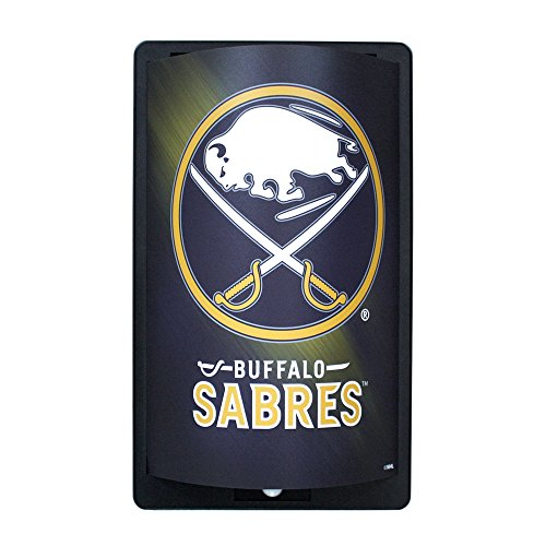 Party Animal Buffalo Sabres Logo MotiGlow Light Up Sign -