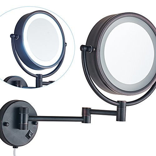 Wall Mounted Led Lighted Magnifying Mirror in Florida - 3