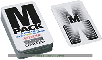 Zzota Games M Pack Playing Cards - for The Third Millennium: Amazon.es: Juguetes y juegos
