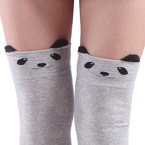 HDE Womens Animal Thigh Stockings