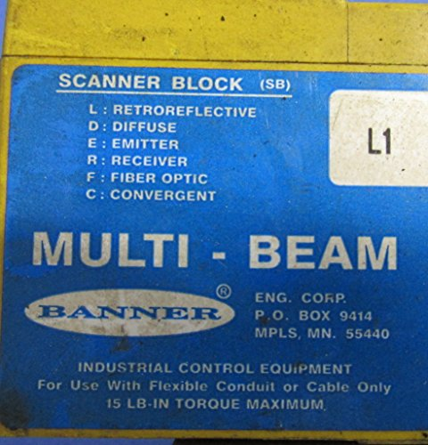 BANNER MULTI-BEAM SCANNER BLOCK L1
