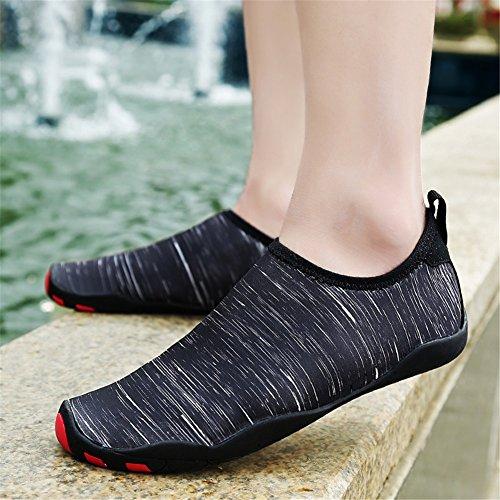 zapatos D descalzo secado transpirable rápido pares de primavera y mujer playa nuevos hombres zapatos 2018 verano zapatos natación pZTq6w