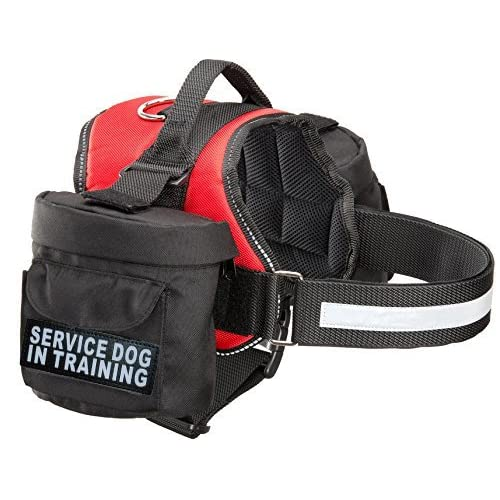 a9f798587b77 Service Dog In Training Harness with Removable Saddle Bag Dogs ...