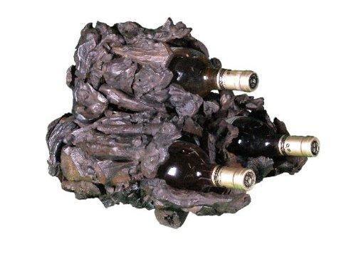 Drifter 3 Bottle Wine Stand by Groovy Stuff