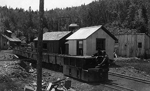 Nevada City, California - View of Miners on Electric Train