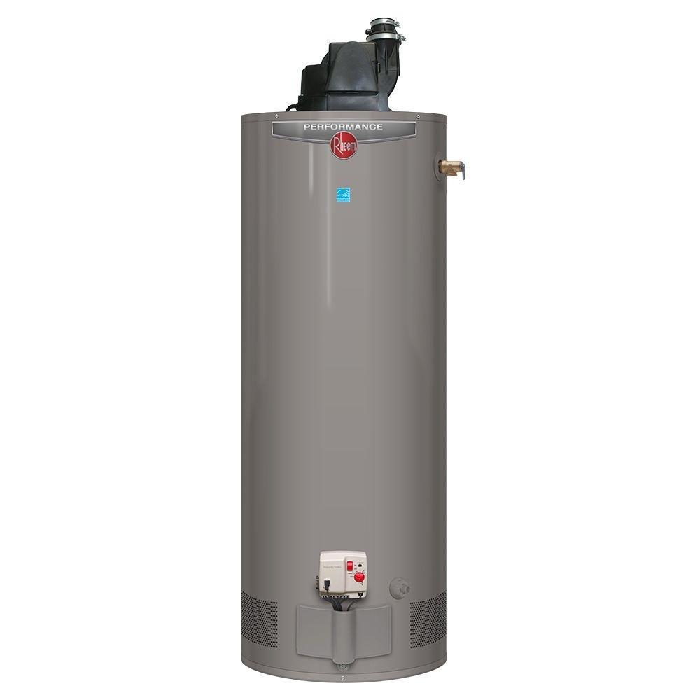 Rheem Performance 40 gal. Tall 6 Year 40,000 BTU Energy Star Power Vent Natural Gas Water Heater