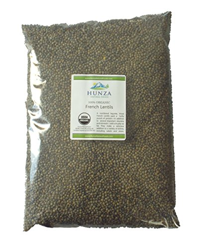 Hunza Organic French Lentils (5 lbs)