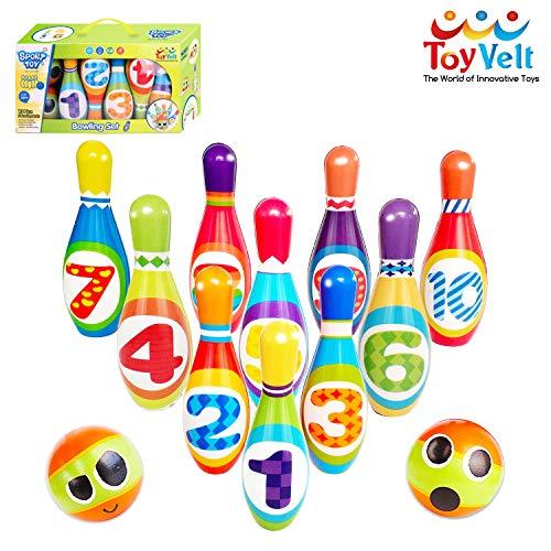 ToyVelt Kids Bowling Set
