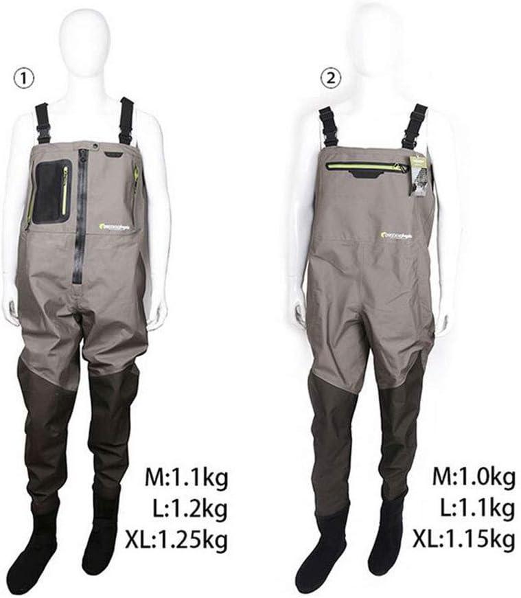 QICLT Vadeadores de Pesca Material de PVC Botas de Pesca Secado ...