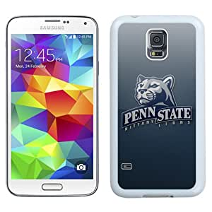 Fashionable And Unique Designed With Ncaa Big Ten Conference Football Penn State Nittany Lions 9 Protective Cell Phone Hardshell Cover Case For Samsung Galaxy S5 I9600 G900a G900v G900p G900t G900w Phone Case White