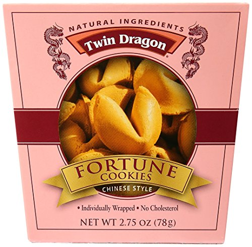 Twin Dragon Fortune Cookie -